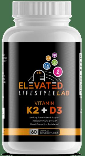 Elevated Vitamin K2 + D3